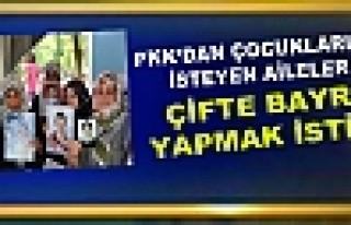 PKK'dan Çocuklarını İsteyen Aileler Çifte Bayram...