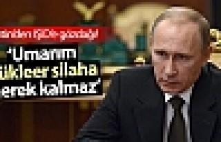 Putin: Umarım IŞİD'e karşı nükleer silah kullanmaya...