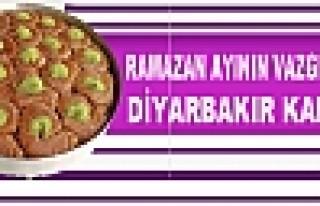 Ramazan Ayının Vazgeçilmez Tatlısı: Diyarbakır...