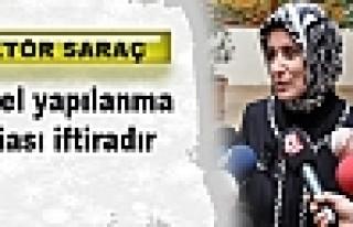 Rektör Saraç: Paralel yapılanma iddiası iftiradır