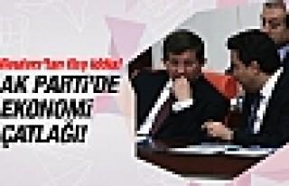 Reuters'tan AK Parti'de ekonomi çatlağı iddiası!
