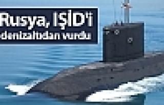 Rusya, IŞİD'i denizaltıdan vurdu