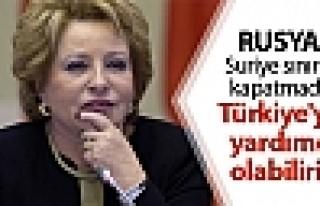 Rusya: Suriye sınırını kapatmada Türkiye'ye yardımcı...