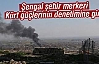 Şengal şehir merkezi Kürt güçlerinin denetimine...