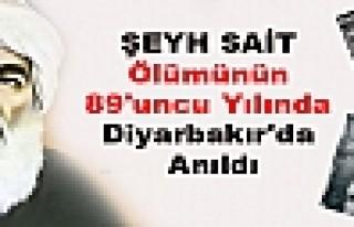 Şeyh Sait Ölümünün 89'uncu Yılında Diyarbakır'da...