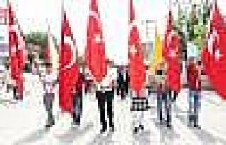 Silvan'da Gençlik Yürüyüşü