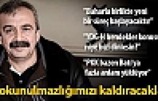 Sırrı Süreyya Önder: Dokunulmazlığımızı kaldıracaklar...