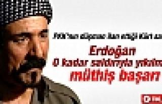 Şivan Perwer: Başbakan Erdoğan'ı tebrik etmek...