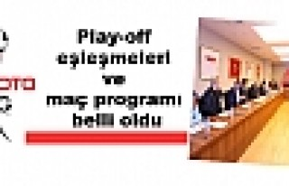 Spor Toto 3. Lig Play-off eşleşmeleri ve maç programı...
