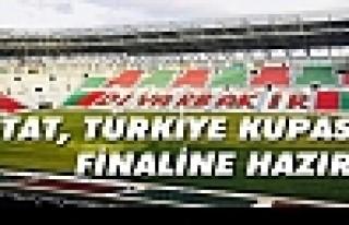 Stat, Türkiye kupası finaline hazır!