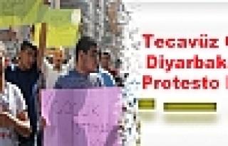 Tecavüz Olayı Diyarbakır'da Protesto Edildi