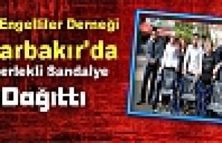 Tüm Engelliler Derneği Diyarbakır'da Tekerlekli...