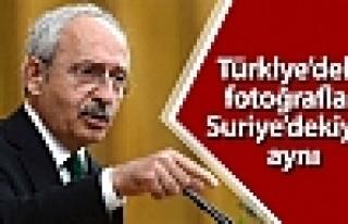 'Türkiye'deki fotoğraflar Suriye'dekiyle aynı,...