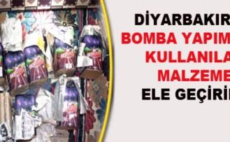 Diyarbakır'da Bomba Yapımında Kullanılan Malzeme Ele Geçti