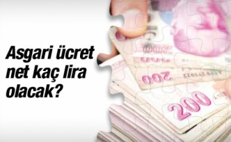 Asgari ücret zammı 2016 net kaç lira olacak?