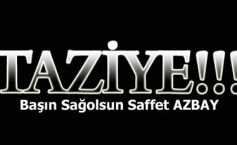 Başın Sağ olsun Saffet Azbay
