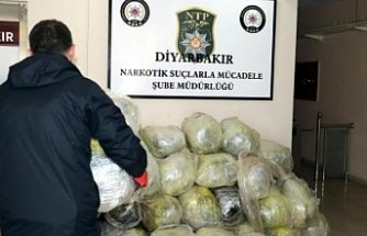 Diyarbakır'da 176 Kilo esrar ele geçirildi