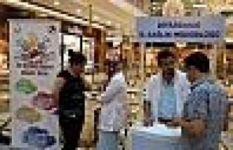 Ninova Park'ta 'dünya Hepatit Günü' Nedeni İle Stant Kuruldu