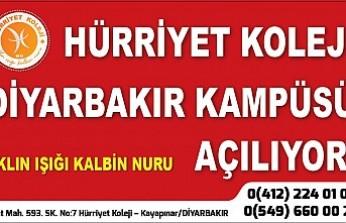 Hürriyet Koleji Diyarbakır'da
