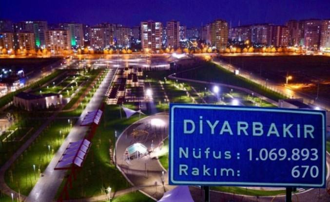 Diyarbakır ve ilçeleri 2019 nüfusu belli oldu