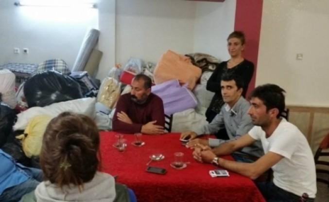 Nar-Der'den Kulp'a Sığınan Kobanili Ailelere Yardım